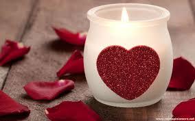 cuore candela
